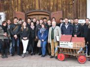Thannhausen: Architekturstudenten zu Gast im Thannhauser Heimatmuseum