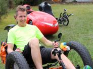 Radsport mal anders: Unterwegs im rollenden Liegestuhl