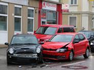 Krumbach/Hairenbuch: Zwei Unfällein der Bahnhofstraße, ein weiterer in Hairenbuch