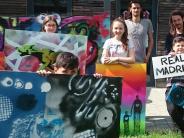 Krumbach: Kreativ mit Kunst im Jugendzentrum