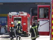 Unterallgäu: Brand bei Firma in Kirchheim verursacht 100.000 Euro Schaden