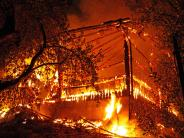 Breitenthal: Scheune in Breitenthal brennt komplett nieder