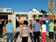 Gemeinderratssitzung: Gemeinderat inspiziert Neubau des Feuerwehrhauses