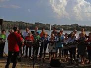 Breitenthal: Pop am See mit dem Krumbacher Chor Popchorn