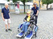 Neu-Ulm: Rollstuhltaxi auf drei Rädern