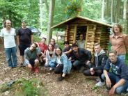 Aktion: Hebauf mitten im Wald