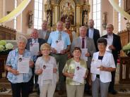 Bruderschaftsfest: Kirchenchor ehrte seine Mitglieder