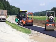 : Fortschritte bei Bauarbeiten an neuem Radweg