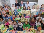 Roggenburg: Bunte Stofftaschen heitern Krebspatienten auf