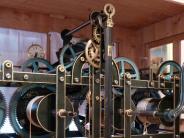 Schönebach: Ein Alterssitz für ausgedientes Kirchturmuhrwerk