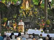 Krumbach: Die Lourdesgrotte im Krumbad feiert 120. Geburtstag