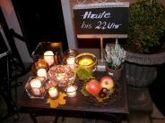 Bildergalerie: Thannhauser Stelldichein bei Kerzenschein