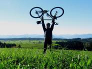 Krumbach/Eschers: Mit dem Rennrad den Alpen entgegen