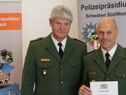 Krumbach: Krumbachs Polizeichef feierlich verabschiedet