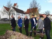 Mönstetten: In 635 Tagen soll hier das Dorfzentrum stehen