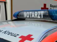 Günzburg: 54-Jährige stürzt zwei Meter tief ins Treppenhaus