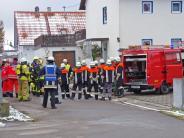 Waltenhausen: Rauchentwicklung in Waltenhauser Keller