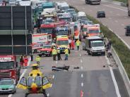 Kreis Günzburg: Strafbefehl gegen Gaffer von der A8 ist rechtskräftig