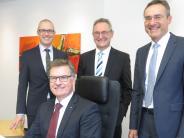 Krumbach/Mittelschwaben: Raiba-Vorstand hat nach der Fusion gut lachen