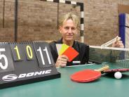 Tischtennis: Seit 20 Jahren derBoss am Tisch