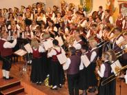 Wiesenbach: Eine Gastkapelle konzertierte zum Jubiläum des Musikvereins
