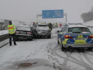 Bilanz: Wintereinbruch sorgt für zahlreiche Unfälle