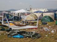Unwetter bei Festival: «Rock am Ring» ist kein Fall für den Staatsanwalt