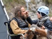 Dreharbeiten: Jürgen Vogel als Ötzi - Gletschermann kommt ins Kino