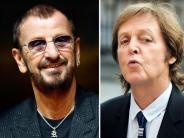 Beatles vereint: Ringo Starr und Paul McCartney gemeinsam im Studio