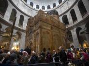 Heiliger Ort: Grabkapelle in Jerusalem restauriert