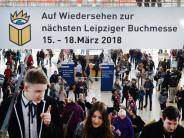 Volle Hallen: Leipziger Buchmesse geht mit deutlichem Besucherplus zu Ende