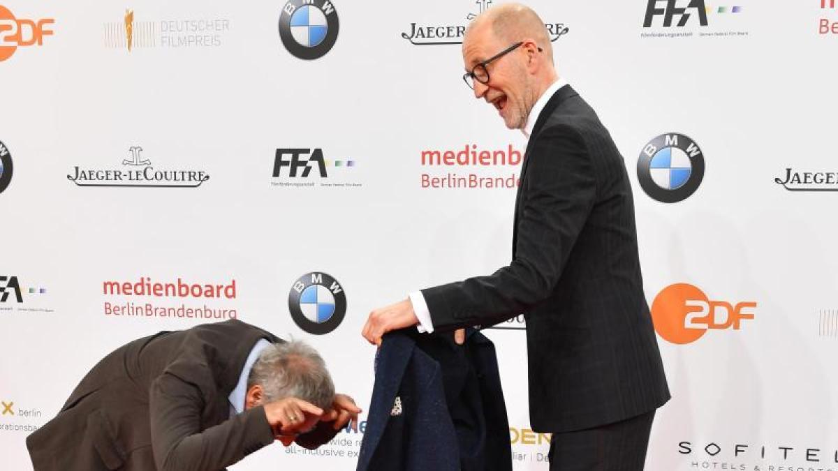 Deutscher Filmpreis LolaGala Schaulaufen auf dem Roten