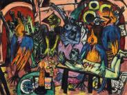 Christie's-Auktion: Gemälde von Max Beckmann für Rekordpreis versteigert