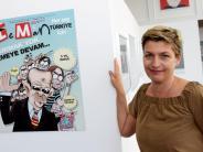 Politische Satire: Karikaturen aus der Türkei in Kassel