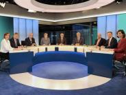 Einschaltquoten: Wahlabend: Großes Interesse an «Berliner Runde»