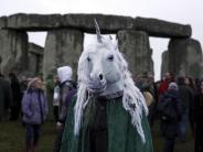Unesco-Weltkulturerbe: Trommeln und tanzen: Wintersonnenwende in Stonehenge