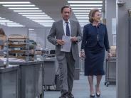 """Filmkritik: """"Die Verlegerin"""": Die Presse fordert den Präsidenten heraus"""