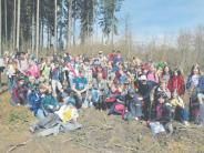 Forst: Jedes Jahr eine Pflanzaktion