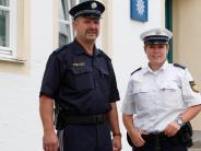 Uniformen: Die Polizei ist jetzt auch in Blau auf Streife
