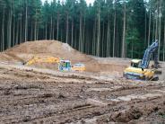 Kreis Landsberg: An den Windrädern wird schon gebaut