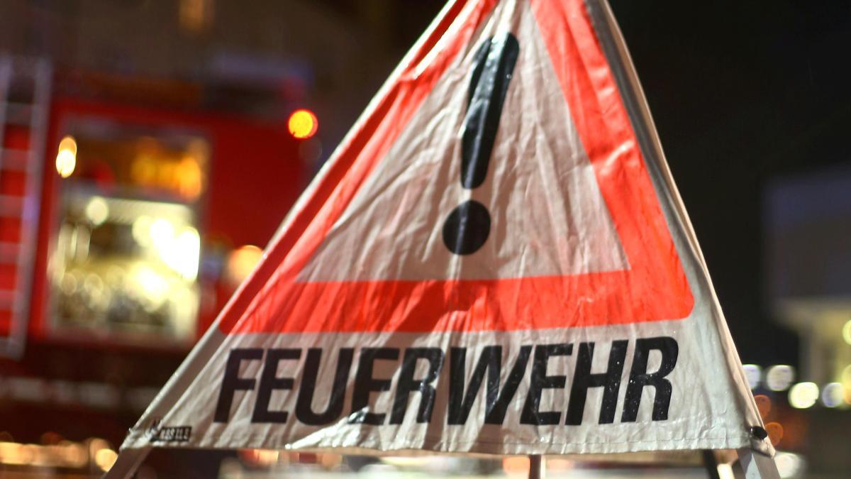 Chemnitz Feuer in Wohnung  Hund rettet Frauchen wohl das