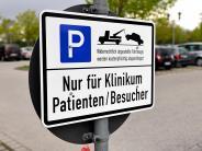 Landsberg: Auf Parkplatzsuche am Klinikum