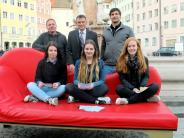 Landsberg: Sie locken mit Weißwürsten und Brezen