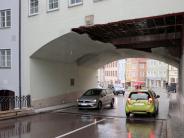 Landsberg: Der Torbogen in der Diskussion