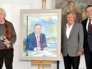 Enthüllung in Landsberg: Geehrt, gerührt und gut getroffen