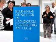 Präsentation im Landsberger Landratsamt: Die bildende Kunst sichtbar machen