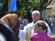 Willibaldsfest: Segen für die Rösser in Unterfinning