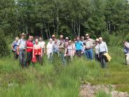 Apfeldorf: Wie ein Moor das Kohlendioxid speichert