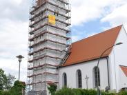 Kirchen: Turm wird saniert