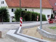 Straßenbau: Die Schlossallee von Penzing